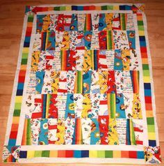 This is the quilt I bought for Julian! I LOVE it!