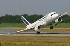 Colisión del ala en aterrizaje A320 de Air France