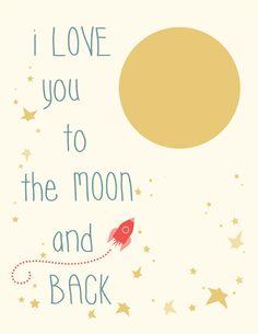 Moon&Back Free Nursery Unisex Boys Printable Set by fishtitch