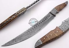 "16.50"" Custom Made Beautiful Damascus steel Full Tang Bowie Knife (AA-0071-9) #UltimateWarrior"
