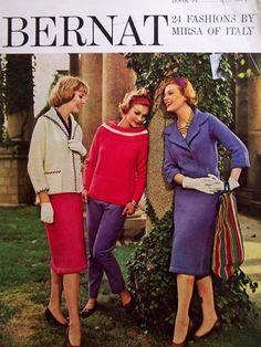 1960s Bernat patterns...inspiration