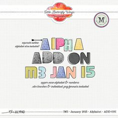 Alphabet {Add On} M3 January '15