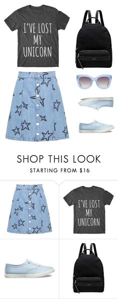 """I've lost my unicorn"" by peppermintdm ❤ liked on Polyvore featuring Être Cécile, Vans, Radley and Alice + Olivia"