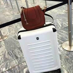 Style, protection, and convenience rolled into one - what more could you ask for. Photo by AnnabelRosendahl #VictorinoxTravel #Spectra #TravelInStyle
