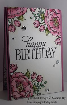 Created by Rachael for Kelly Kent - mypapercraftjourney.com. #imbringingbirthdaysback