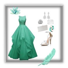 Jade Dream by bellecollective on Polyvore featuring polyvore, fashion, style, Allurez, Ella Carter, Bulgari and clothing