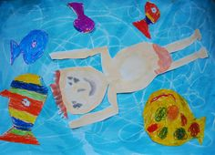 Kunstunterricht in der Grundschule, Kunstbeispiele für Klasse 1 bis 6 - 136s Webseite!