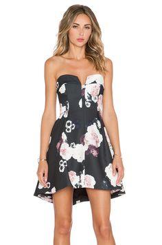 Keepsake Divide Mini Dress in Dark Flower Bloom #REVOLVEclothing