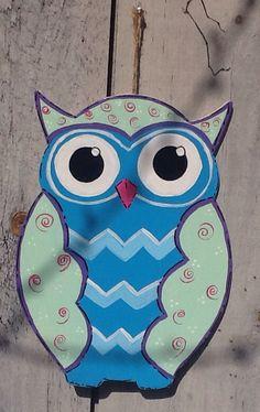 Owl sign decor angelascreativecraft etsy.com