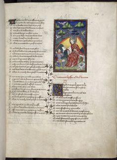 Harley 4431 fol 51 (God of Love). Paris, France 1410-1414.