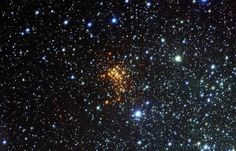 This new picture from the VLT Survey Telescope (VST) at ESO's Paranal Observatory shows the remarkable super star cluster Westerlund 1.