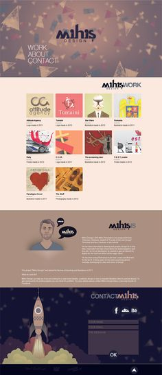 Mihis Design website  by ~MihisDesign