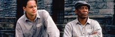The Christ-figure in the film The Shawshank Redemption is Andy Dufresne (played by Tim Robbins). Though innocent Andy spends 19 years in Shawshank prison Movie List, Movie Tv, Andy Dufresne, Die Verurteilten, Brian Tracy Quotes, Tim Robbins, Beloved Film, The Truman Show, Stephen King