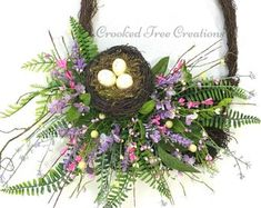 Wreaths Arrangements Bouquets And Floral by CrookedTreeCreation