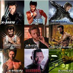 Favorite Wolverine? | #wolverine #comics #hero #marvel #xmen #deadpool #spiderman #captainamerica #ironman #marvelcomics | Credit to the Respective Owner |