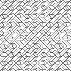V1 Line Tiled Pattern Coloring page
