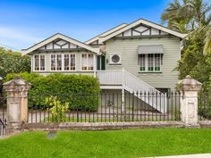 Houses for Sale in Hendra, QLD 4011 locations) Pg. Hollywood Glamour Bedroom, French Provincial Furniture, Victorian Bathroom, Queenslander, Australian Homes, Architect House, Shabby Chic Furniture, House Colors, Ideal Home