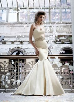 Lazaro Wedding Dresses Fall 2011-2012 | Wedding Inspirasi