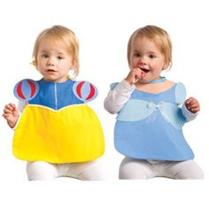 Princess Bib Set -- link is bad, but could use the picture to make