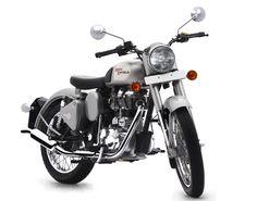 Royal Enfield Bullet Classic Plateada 350 cc