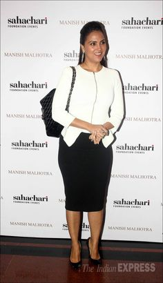 Lara Dutta at the launch of Manish Malhotra's new collection titled, 'The Regal Threads'. #Bollywood #Fashion #Style #Beauty #Hot #Punjabi