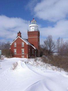 Big Bay Lighthouse, Lake Superior, Michigan - USA