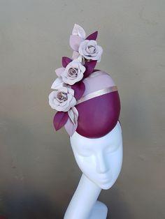Custom and read to wear fascinators, hats and headwear Silly Hats, Fancy Hats, Fascinator Diy, Victorian Hats, Millinery Hats, Stylish Hats, Diy Hat, Purple Love, Wedding Hats