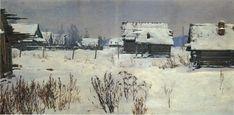 Winter (1951) Vladimir Aleksandrovich Serov (Unión Soviética, 1910-1968)