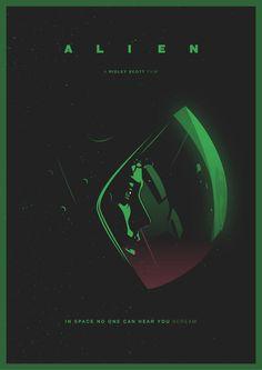 Alien 1979 on Behance