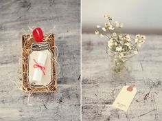 diy printable - postcards and pretties: {guest post} hanging mason jar save-the-date