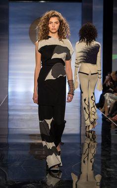Jillian Sinclair: knitGrandeur: FIT The Future of Fashion 2017, Knitwear. Photo: © 2017 Lorenzo Ciniglio
