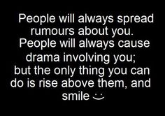 rise above & smile (ツ)