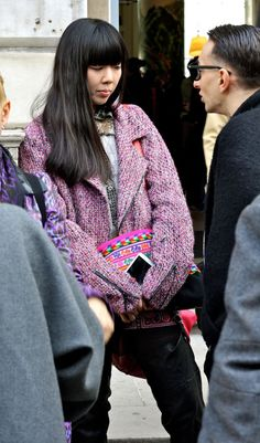 Susie Bubble Stalked at Somerset House