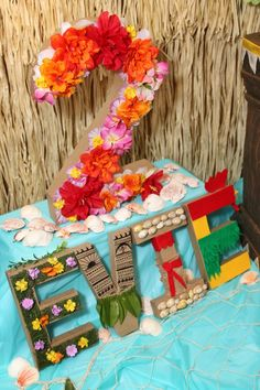 Moana Birthday Party Ideas - Mommy of a Princess