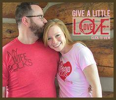 Husband/Wife Shirts. Cute!