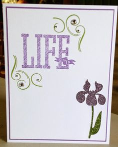 Show and Tell, with Michelle: July Stamp of the Month Blog Hop ~ Life is Wonderful