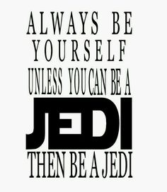 No. Always ALWAYS be a sith.