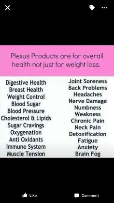 "Plexus is changing lives everyday! Are you ready to change yours? Lose weight & feel great! Get healthy the most Natural way possible! Once you get your ""gut health"" in check, everything else just falls into place. Try it out, risk free. 60-day money back guarantee. www.PlexusSlim4yourLife.com (Ambassador # 143368)"