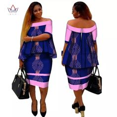 Online Shop African Dashiki Print Women Clothing Two Pieces Tops and Body Corn Dress New Design 2017 Fashion Plus Size BintaRealWax African Formal Dress, Short African Dresses, African Traditional Dresses, Latest African Fashion Dresses, African Print Dresses, African Print Fashion, African Attire, African Wear, African Women