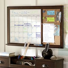 Message Calendar Board. Maybe I could make something similar to this