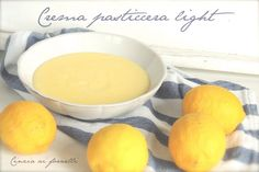 Cinzia ai fornelli: Crema pasticcera light Bimby Cantaloupe, Healthy Eating, Cheese, Fruit, Ethnic Recipes, Food, Chowder, Sugar, Meal