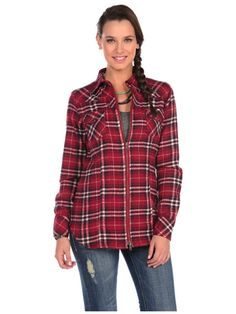 Stetson Plaid Flannel Shirt
