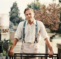 Leonardo DiCaprio as Jay Gatsby in 'The Great Gatsby'. He was so hood in this movie! Jay Gatsby, O Grande Gatsby, Look Gatsby, Gatsby Style, Gatsby Man, Gatsby Party, Estilo Gatsby, The Great Gatsby 2013, Leonard Dicaprio