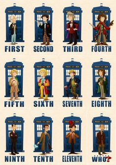 Doctor Who Companions deviantART | 50th Anniversary of Doctor Who! The Doctors