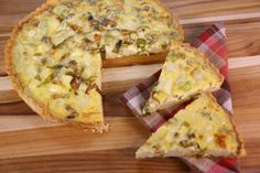 the chew   Recipe    Clinton Kelly's Leek Tart.  Making this tonight!  Simple and delicious!