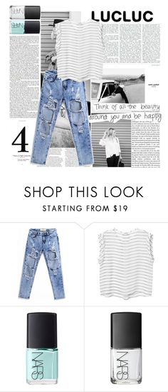 """""""lucluc II°5: i'm just saying it's fine by me"""" by fictionaltruth ❤ liked on Polyvore featuring ASOS, Yves Saint Laurent, Monki, NARS Cosmetics and lucluc"""