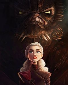 'Dracarys' by Nicole Steffes Game Of Thrones Queen, Game Of Thrones Dragons, Game Of Thrones Tv, Game Of Thrones Funny, Got Finale, Daenerys Targaryen Art, Game Of Thones, I Love Games, Fanart