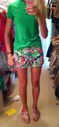Lilly shorts + Jacks
