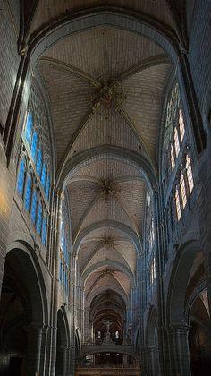 Avila Cathedral.Spain
