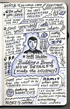 Jeff Sheldon - Building A Brand: How Details Make the Difference - from Circles Conference, via the Creative Market Blog #circles2013